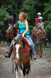 trail rides at Saddle Up STables